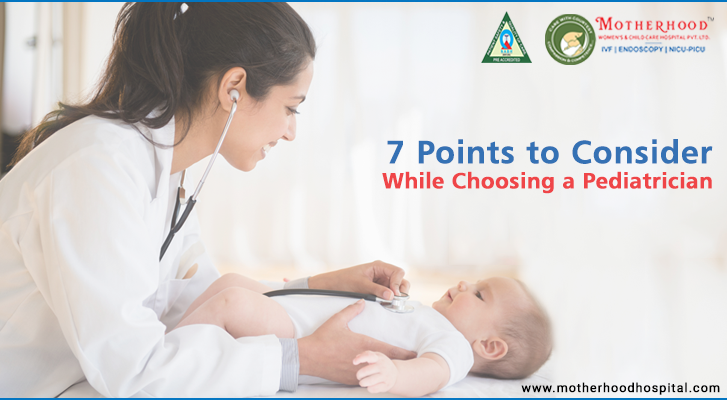 Points to Consider While Choosing a Pediatrician